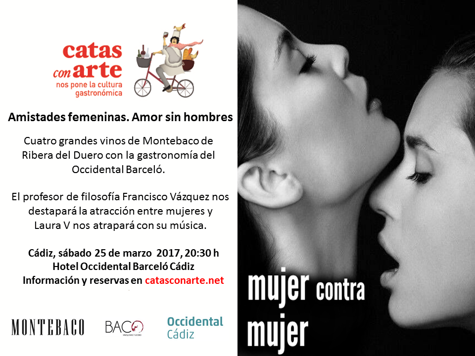 Cartel mujer contra mujer